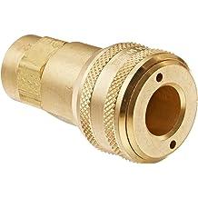 1//4 Body 3//8 Port Size Eaton Hansen 3200 Brass ISO-B Interchange Pin Lock Pneumatic Fitting 3//8-18 NPTF Female Socket