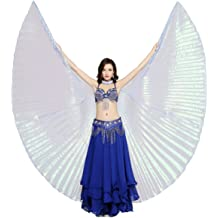 MIKIBANA Portable Stainless Steel Telescopic Stick for Belly Dance ISIS Wings Rod Egypt Dancing Indian Accessory