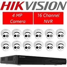 Home, Furniture & DIY Hikvision 6MP DS-2CD2T63G0-I8 2.8/4mm Bullet IP Outdoor Camera with base IR80m Smart Home & Surveillance