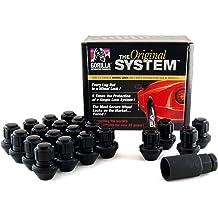 32 Pack 14-Millimeter by 1.5 Thread Size Gorilla Automotive 26145BC Duplex Black Chrome Lug Nut