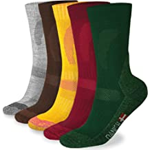c7fa2e6eb5b78 DANISH ENDURANCE Merino Wool Hiking Socks Crew for Spring & Summer,  Trekking, Performance