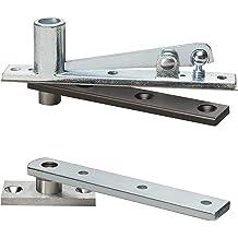 Regular Interior//Exterior Rixson 147 613 LH 147 x LH x 613 Offset Pivot Brass Finish