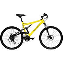 eeb1c8f4407 2018 Gravity FSX 1.0 Dual Full Suspension Mountain Bike with Disc Brakes,  Shimano .