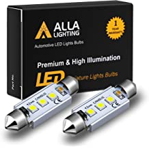 Alla Lighting LED 211-2 Dome Light Bulb|Map|Courtesy|Trunk|Cargo Light Bulb 4PC